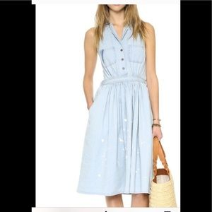 One teaspoon st bleu swoon denim dress